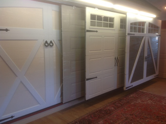 Showroom, Eastman E-21, Desert Sand door and Ice White overlays, Arch Overlay without windows