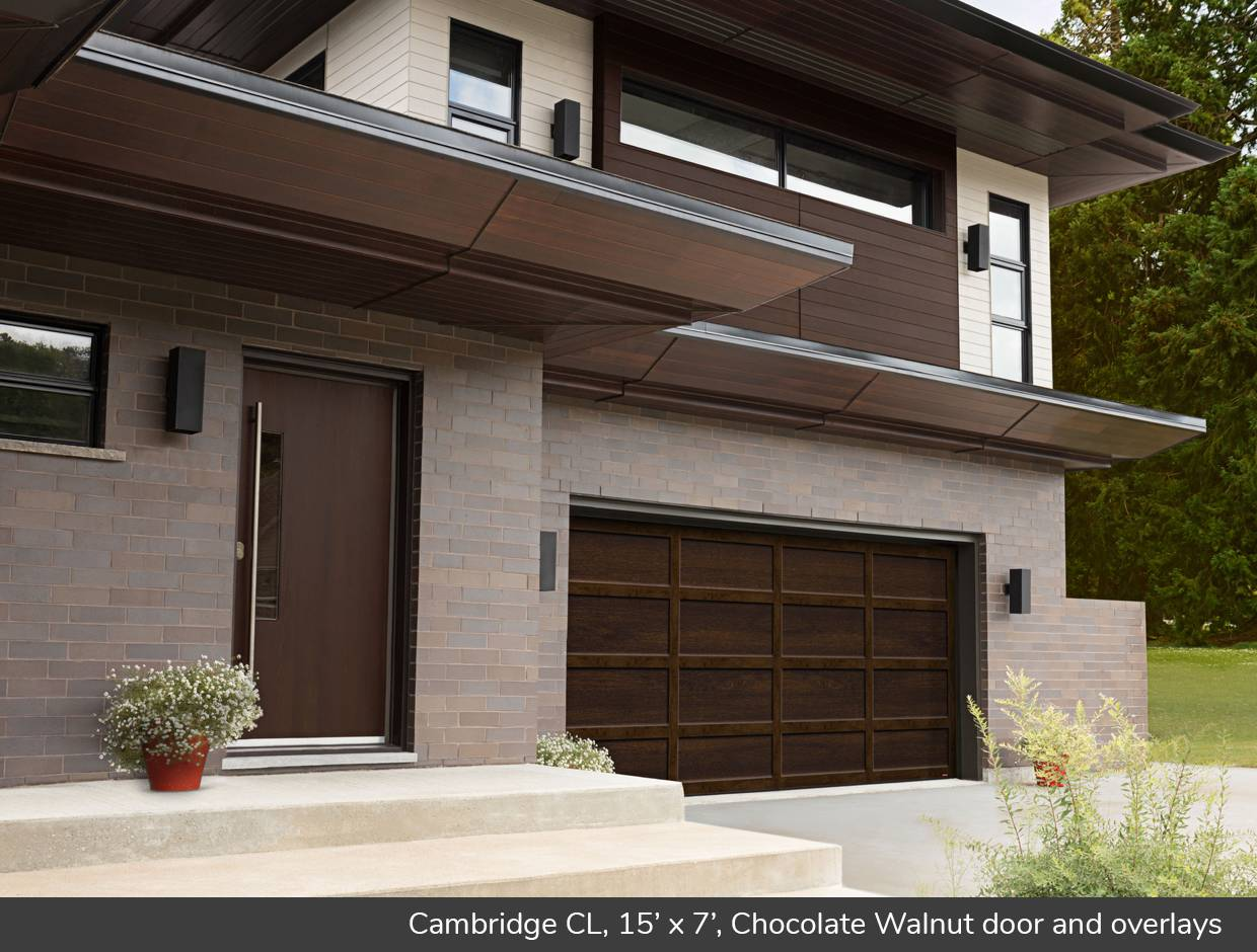 Cambridge CL, 15' x 7', Chocolate Walnut doors and overlays